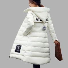 Winter Jackets Women, Coats For Women, Clothes For Women, Ladies Coats, Jacket 2017, Plus Size Winter, Cotton Pads, How To Slim Down, Padded Jacket