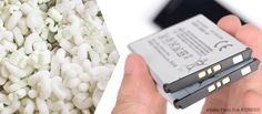 Could recycling packing peanuts make better batteries?
