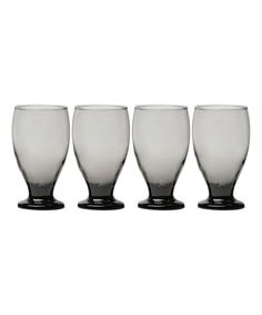 Uptown Gray Water Goblet