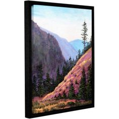 ArtWall Gene Foust Let Live Gallery-Wrapped Floater-Framed Canvas, Size: 18 x 24, Green