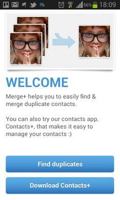 Cómo eliminar contactos duplicados en Android
