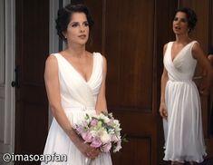 I'm a Soap Fan: Sam Morgan's Wedding Gown - General Hospital, Season 54, Episode 09/02/16, Kelly Monaco, #GH, #GeneralHospital
