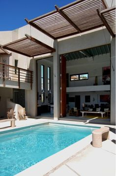 Moroccan Courtyard House Plan | The house seeks to reinterpret the classic modern house in a hot ...