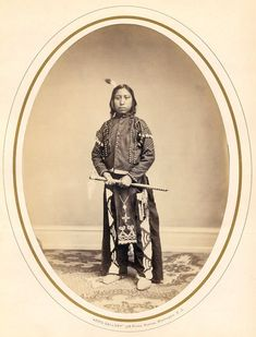 To Kan Was Te (The Pretty Rock) Son Of Yankton Sioux Chief 1867