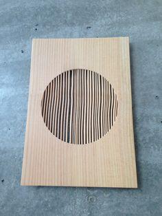 Diptych - Lex Pott - New Window - Gezandstraald Douglas hout
