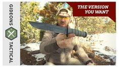 The Best Version: Ka-Bar Fighting/Utility Knife 1211