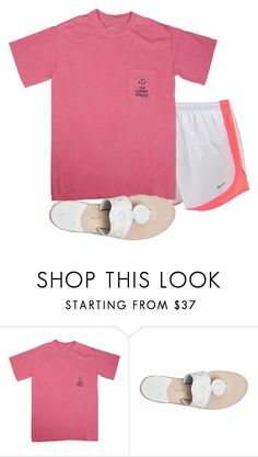 """""""Untitled #1614"""" by elephant10 ❤ liked on Polyvore featuring NIKE and Jack Rogers"""