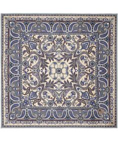 Blue Paisley Print Silk Scarf, Liberty London. Shop the latest Liberty London Scarves collection at Liberty.co.uk