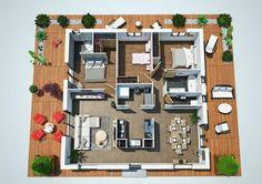 Maison Villa Dona - Couleur Villas - 109.472 E | Faire construire sa maison