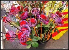 Roses for Sant Jordi  - 23 April - Barcelona