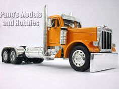 Peterbilt 379 Diecast Metal and Plastic 1/32 Scale Truck Model by Jada