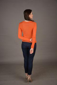 Sweter damski – merynos | WEAR WOOL by Marta Geneja