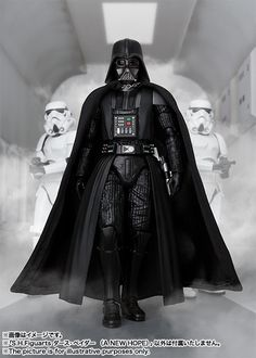 Figuarts Star Wars Darth Vader (A New Hope) starts preorder! Star Wars Pictures, Star Wars Images, Chewbacca, Darth Vader Figure, Star Wars Painting, Star Wars Personajes, Star Wars Episode Iv, Vader Star Wars, Star Wars Wallpaper
