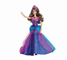 Barbie Diamond Castle Alexa Doll This beautiful Princess Alexa Barbie doll sings two songs from the Barbie and the Diamond Castle movie. Her necklace lights up when she sings, and her glittery gown can be magically transformed! Barbi http://www.comparestoreprices.co.uk/childs-toys/barbie-diamond-castle-alexa-doll.asp