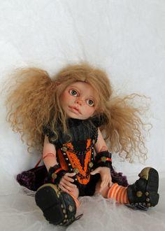 OOAK BJD by Sherrie Neilson Felt Dolls, Bjd, Folk, Folk Music, Popular, Felt Puppets, People