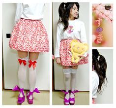 Simple Garter Skirt Tutorial (with Kero-chan!) | Kawaii D.I.Y.