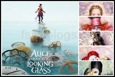 ALICE THROUGH THE LOOKING GLASS First Look at Characters! #DisneyAlice