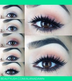Romantic Makeup Tutorial   Alana D.'s (alanadawn) Photo   Beautylish