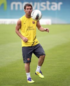 Lionel Messi...Messi and I have the same cleats...um...all I can say is....YEAH BABY!!!