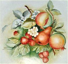 Risultato immagine per fiori da dipingere su ceramica