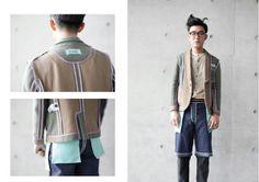 "Model / 鄭煜鈞 Photography /張育晴 Designer / Enid Liao 2014 造反""Its BACK!"