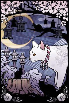 I like this cat illustration