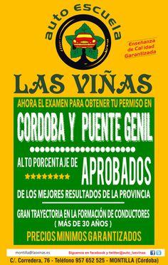 Autoescuela Las Viñas, enseñanza de calidad GARANTIZADA