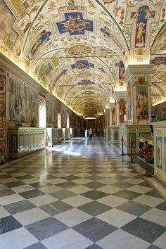 www.tektonministries.org #tekton #pilgrimage Vatican Museum, Rome by Dave Hamster Haven't seen an image that is true to what you see there