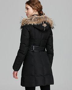 Mackage Down Coat - Trish Lavish Fur Trim Hood (BLACK)