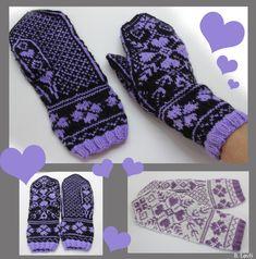 SeptemberHjerter Mitten Gloves, Mittens, Knitting Projects, Knitting Patterns, Knitting Socks, Knit Socks, Diy And Crafts, Scrapbooking, Design