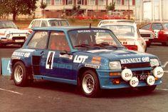 Rajd Skody - Renault 5 Turbo  Błażeja Krupy Sports Car Racing, Race Cars, Alpine Renault, Turbo Car, Nissan Infiniti, Car Tuning, Rally Car, Courses, Muscle Cars