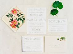 Rose Envelope Liners