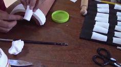 Teja Decorada - Paso 2: Techo en Porcelana Fría