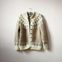 Fashion Preserve: Spot the Difference: Nordic and Icelandic Sweaters