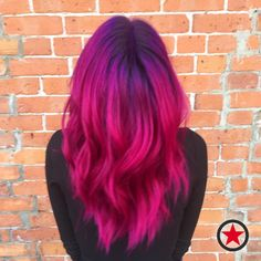 Plan B Headquarters aims to be more than just a Kelowna hair salon & barbershop; View our gallery to see Plan B in action. Vivid Hair Color, Vibrant Hair Colors, Hair Color And Cut, Hair Dye Colors, Cool Hair Color, Messy Hairstyles, Pretty Hairstyles, Khalessi Hair, Unicorn Hair Color