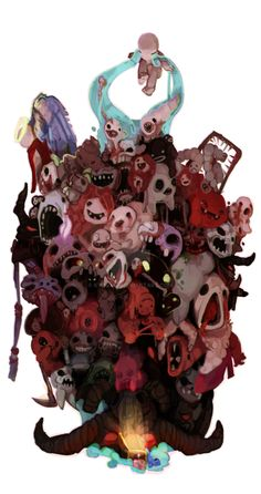 all the bosses(i think) except minibosses i don't own any of these charcters