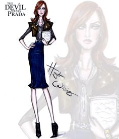 The Devil Wears Prada collection by Hayden Williams: Emily Charlton