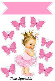 Baby Life Hacks, Baby Girl Cakes, Boss Baby, Baby Art, 1st Birthday Girls, Nursery Inspiration, Birthday Cake Toppers, Princesas Disney, Planner Stickers