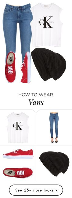 """""""Untitled #203"""" by weirdcass on Polyvore featuring Calvin Klein Jeans, Calvin Klein, Vans, Phase 3, women's clothing, women, female, woman, misses and juniors"""