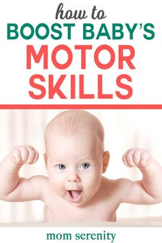 How to boost your baby's motor skills and development with great tips and tricks #babyhood #babies #motorskills #babydevelopment #infant #crawling #walking