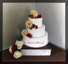 Rustic Wedding Cake Stand-Dark Walnut for sale Rustic Cake Stands, Wedding Cake Stands, Wedding Table, Rustic Wedding, Wedding Cakes, Reception Decorations, Table Decorations, Wedding Cake Inspiration, Dark Walnut