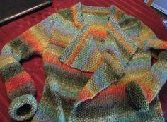 Autumn Fields Jacket size 10 (6mm) circular needles bulky/chunky (5) yarn intermediate