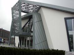 Sistemas de Fachadas | Villa Libeskind, oficinas centrales de Rheinzink aleación de zinc para fachada | http://sistemasdefachadas.com