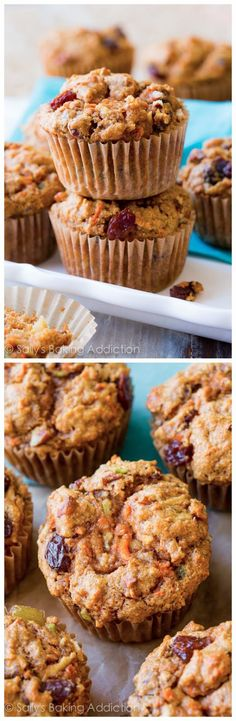 Simple Morning Glory Muffins