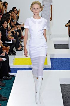 Jil Sander - white dress