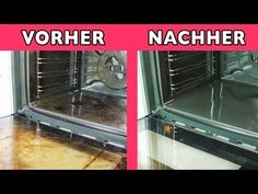 Backofen reinigen: Sofort sauberen Ofen ohne Schrubben und Chemie mit diesem kleinen Trick. - YouTube