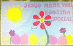 Image result for Christian Easter Bulletin Board Ideas