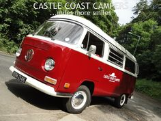 'Well what can we say Miss Scarlet you are amazing.' - says Gemma. Read all our #facebook reviews and book your #amazing #vintage #Campervan #holiday soon!  https://www.facebook.com/CastleCoastCampers/reviews/