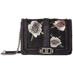 Rebecca Minkoff Small Love Crossbody (Black Embossed) Cross Body... (14.725 RUB) ❤ liked on Polyvore featuring bags, handbags, shoulder bags, crossbody shoulder bag, leather crossbody handbags, rebecca minkoff crossbody, shoulder strap handbags and leather cross body purse