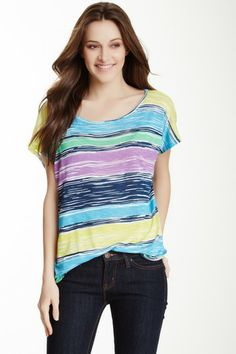 Sunrise Striped Tee on HauteLook